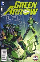 Green Arrow #49 with Neal Adams Remarque of Green Arrow