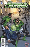 Green Lantern #49 with Neal Adams Remarque of John Stewart
