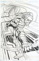 Green Arrow #10 Cover - Published Cover Penciled and Inked By Neal