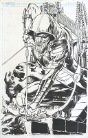 Green Arrow #11 Cover - Published Cover Penciled and Inked By Neal
