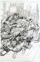 Green Arrow #13 Cover - Published Cover Penciled and Inked By Neal