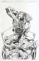 Green Arrow #14 Cover - Published Cover Penciled and Inked By Neal