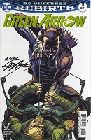 Pre-Sale - Green Arrow 14 Variant Cover Autographed by Neal - Very Special