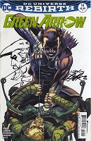 Pre-Sale - Green Arrow 14 Variant Cover Autographed/Remarqued by Neal - Very Special (COPY)