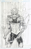 Green Arrow #16 Cover - Published Cover Penciled and Inked By Neal