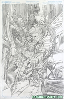 SOLD Green Arrow Reborn #1 Cover SOLD