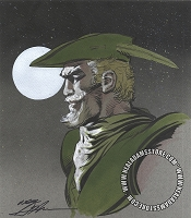 SOLD Green Arrow Moon