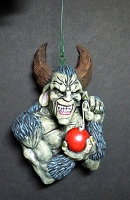 Krampus Christmas Ornament - Hand Painted