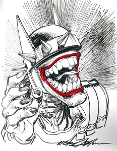 Batman Who Laughs - Sketch 1