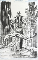 Luke Cage  Cover Original Art