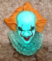 Pennywise the Dancing Clown Magnet - Glow in the Dark Resin Hand Painted