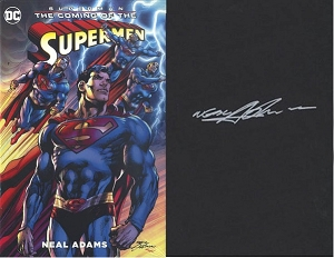 The Coming of Superman Hard Cover -  Signed