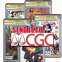 Have your book sent with documents to CGC to be cased and graded as Signature Series