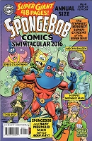 Spongebob #4 Annual Size - Signed by Neal Adams
