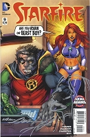 Starfire #9 with Neal Adams Remarque of StarFire