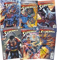 The Coming of the Supermen Signed Bundle