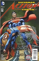 Superman Action Comics #49 with Neal Adams Remarque of Superman