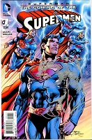 Superman: The Coming of the Supermen #1 - Signed with Sketch by Neal Adams