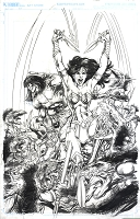 Wonder Woman / Conan #5 Cover