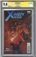 X-Men Blue neal Adams 1:25 Variant Signature Series 9.8