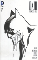 Batman Dark Knight III Blank Cover with Sketch 2