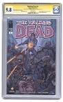 Walking Dead #1 Signed and Numbered w/Sketch CGC 9.8