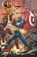 Civil War 001 Neal Adams Variant Signed , Numbered and Sketched