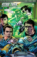 Star Trek Green Lantern  Neal Adams Variant Signed , Numbered and Sketched
