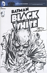 Batman Black and White #1 Blank with Original Neal Adams Zombie Batman Sketch