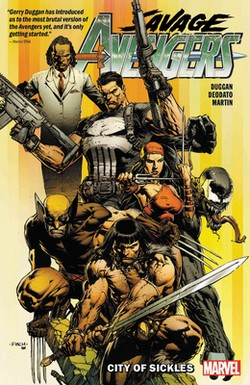 (MVL) SAVAGE AVENGERS TP VOL 01 CITY OF SICKLES