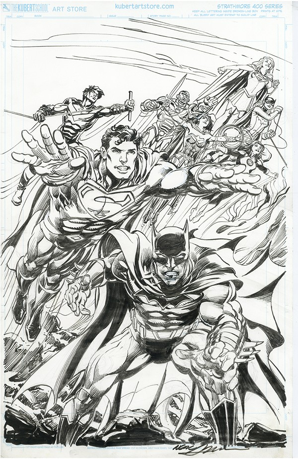 Original Cover Art - DC Comics Variant Covers