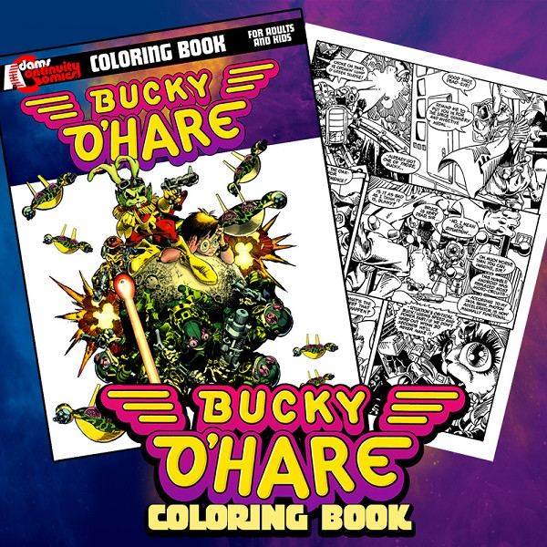 Bucky O'Hare Coloring book