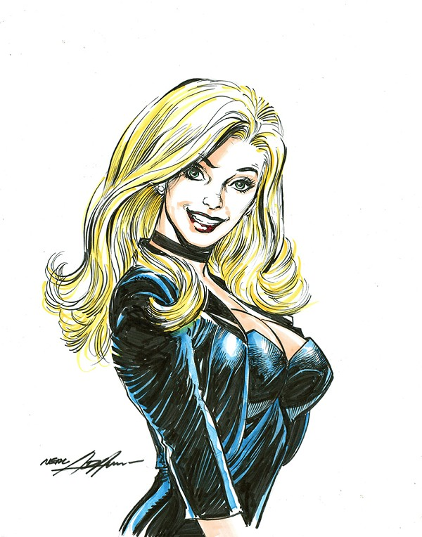 "Black Canary 11"" x 14"" Color"