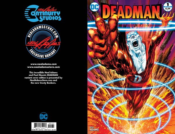 EXCLUSIVE Deadman #1 - Neal Adams Edition- SIGNED