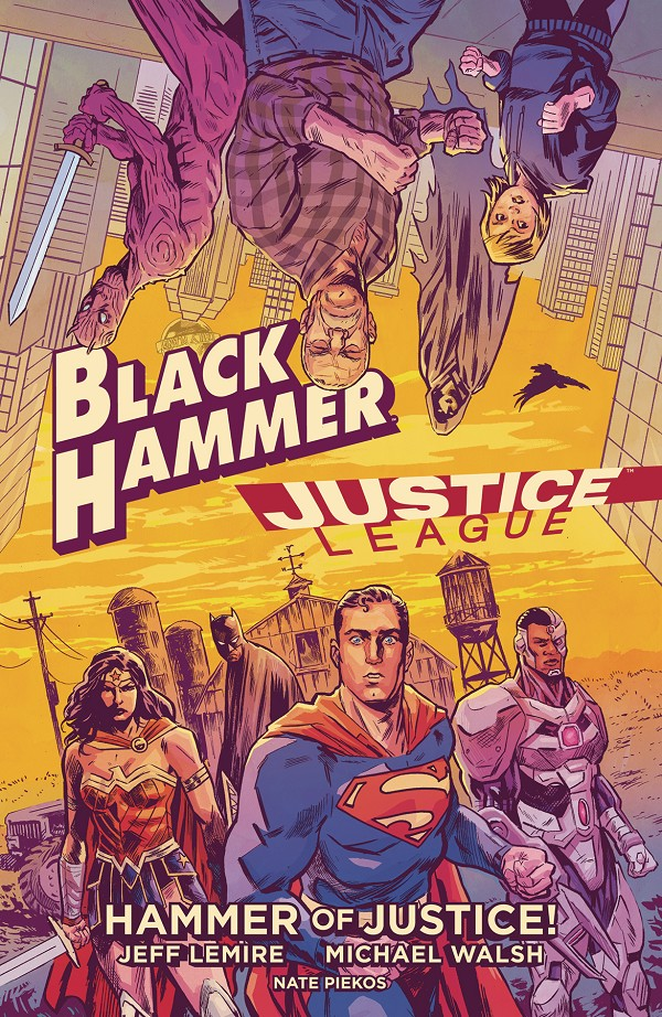 (DC) BLACK HAMMER JUSTICE LEAGUE HAMMER OF JUSTICE HC
