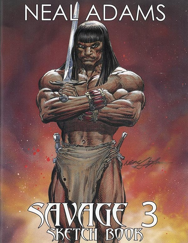 Savage 3 Sketchbook - signed