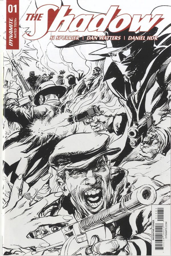 The Shadow #1 signed by Neal Adams