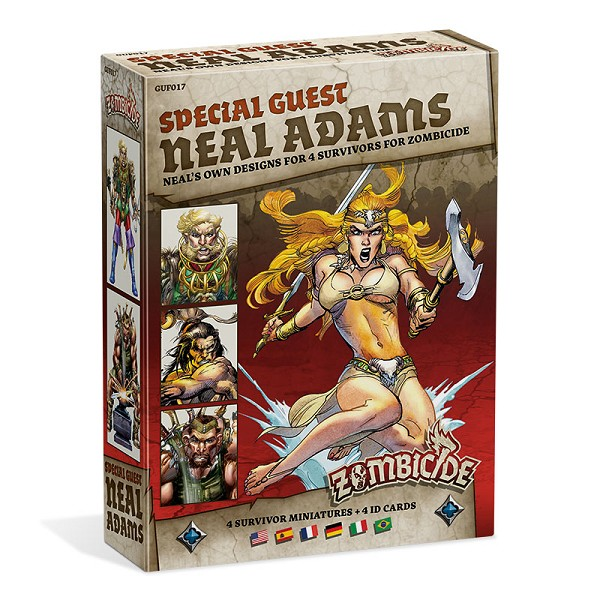 Zombicide Special Neal Adams Guest Pack - Signed