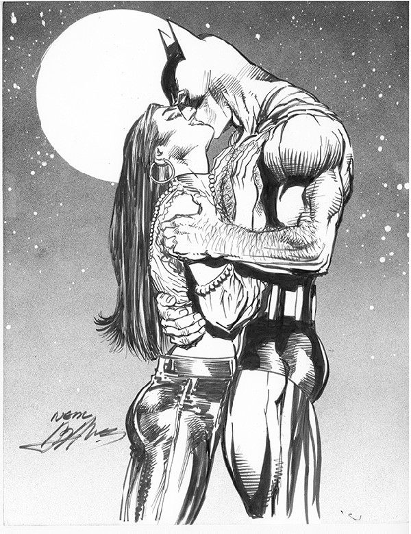 Batman Talia - The Kiss