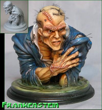 Frankenstein's Monster from Neal Adams Monsters -Resin Model Kit