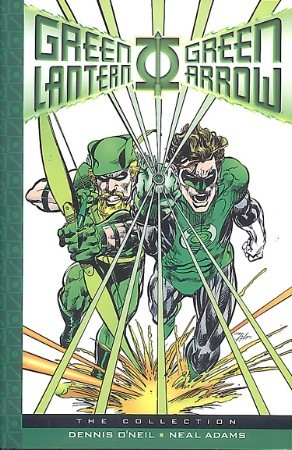 Green Lantern Green Arrow Hard Cover w/Green Lantern Sketch