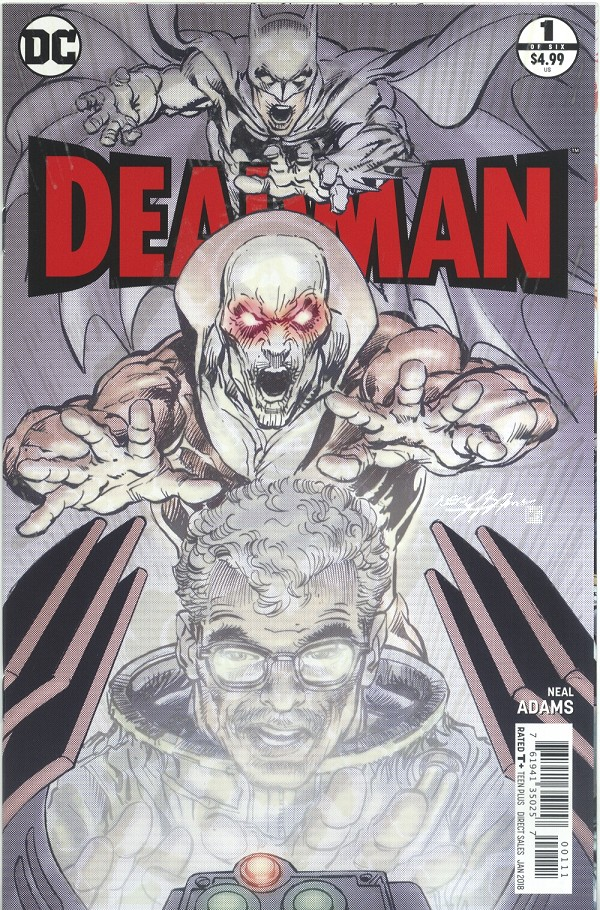 Deadman #1 - Glow in the Dark Edition- SIGNED