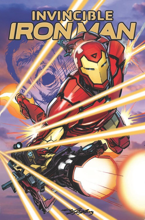 Invincible Ironman  Neal Adams Variant Signed