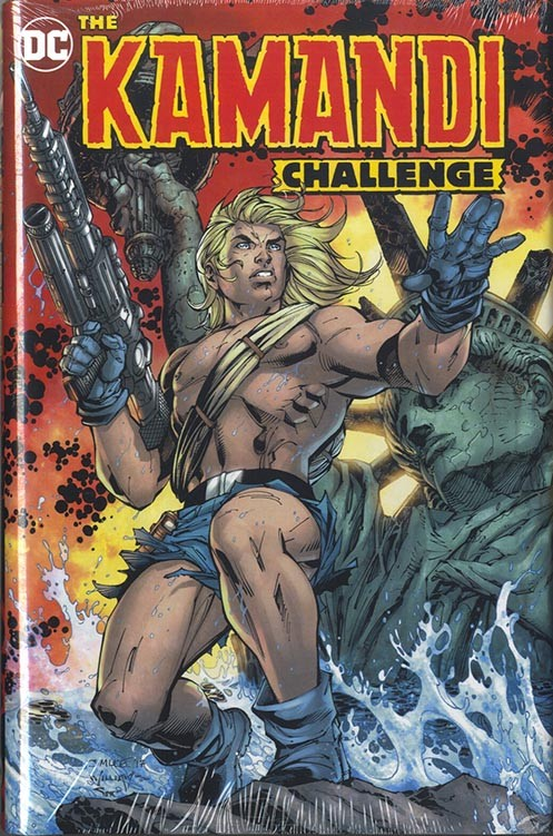 The Kamandi Challenge signed by Neal Adams
