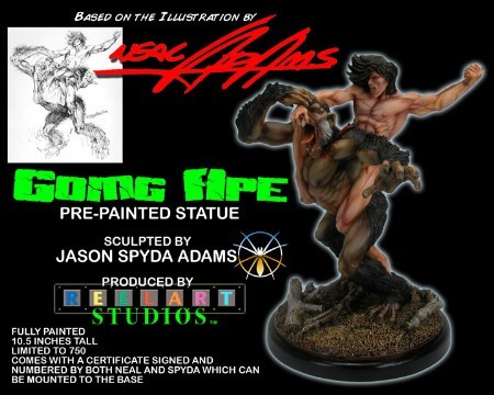 Going Ape Painted Statue Ltd to 500