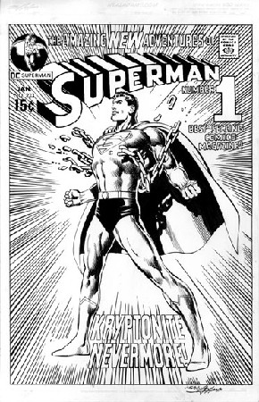 Re-creation Superman 233 Cover