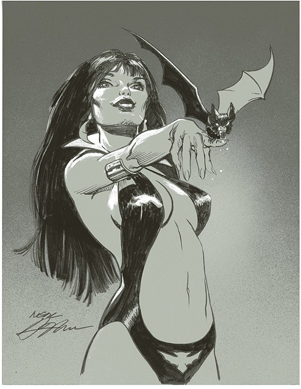 Vampirella and the Bat