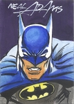 Batman 3 Water Color Sketch Card