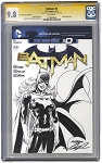 Batgirl - CGC 9.8 Drawn on Batman New 52  #0  Blank