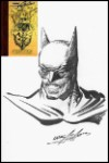 Batman Drawn in NA Sketch Book HC